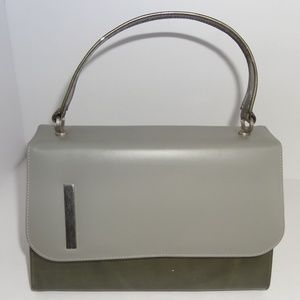 Vintage Life Stride Two Tone Handbag Purse